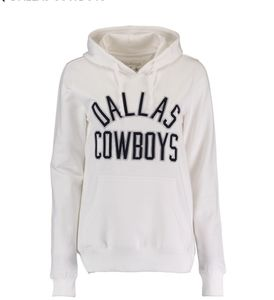 NWT-Womens Dallas Cowboys Sparrow Pulliber Hoodie